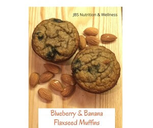 Blueberry Banana Flaxseed Muffin