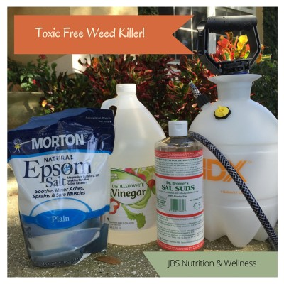 The TOXIC FREE Weed Killer That WORKS!